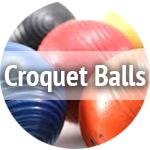 used croquet balls